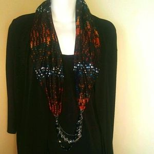 Traditions 2 looks in one top sz 14/16